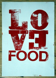 Blog - 9-4-12 - love food image